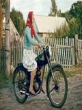 Bunica Cu Motocicleta
