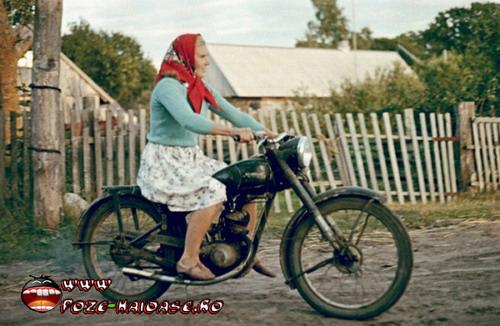 Bunica Cu Motocicleta 2021