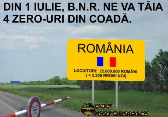 Romania Fara Zero-uri
